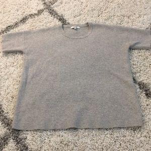 Madewell Grey Sweater Tee XS